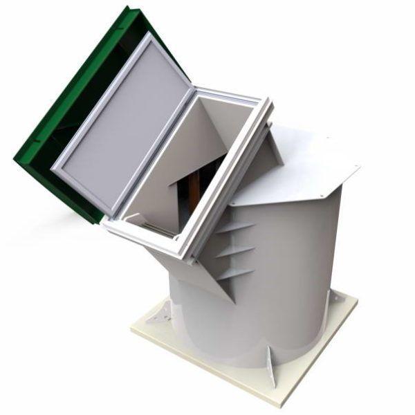 Купить пластиковый погреб Kellary-7 от производителя (1)