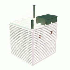 Купить пластиковый погреб Топол Эко ПП3