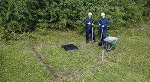 Установка погреба Тингард под ключ